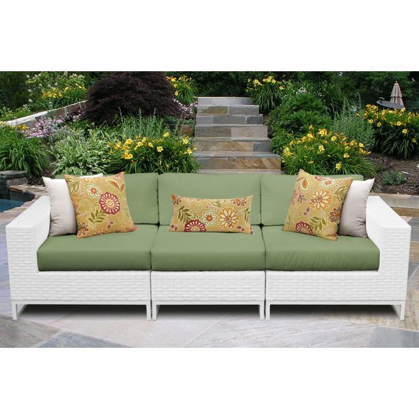 Most Current Falmouth Patio Sofas With Cushions With Amazing Miami Patio Sofa With Cushionstk Classics (View 14 of 20)