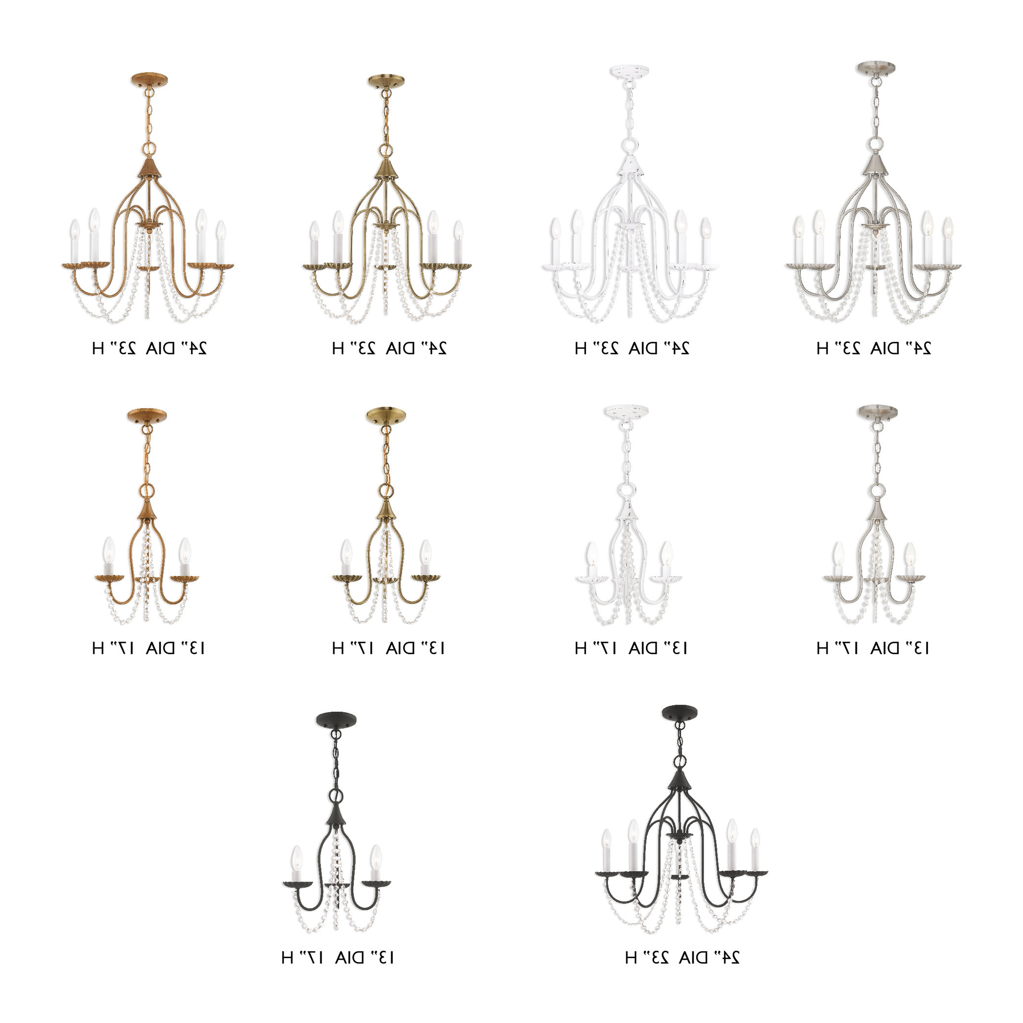 Most Current Florentina 5 Light Candle Style Chandelier & Reviews (View 12 of 20)