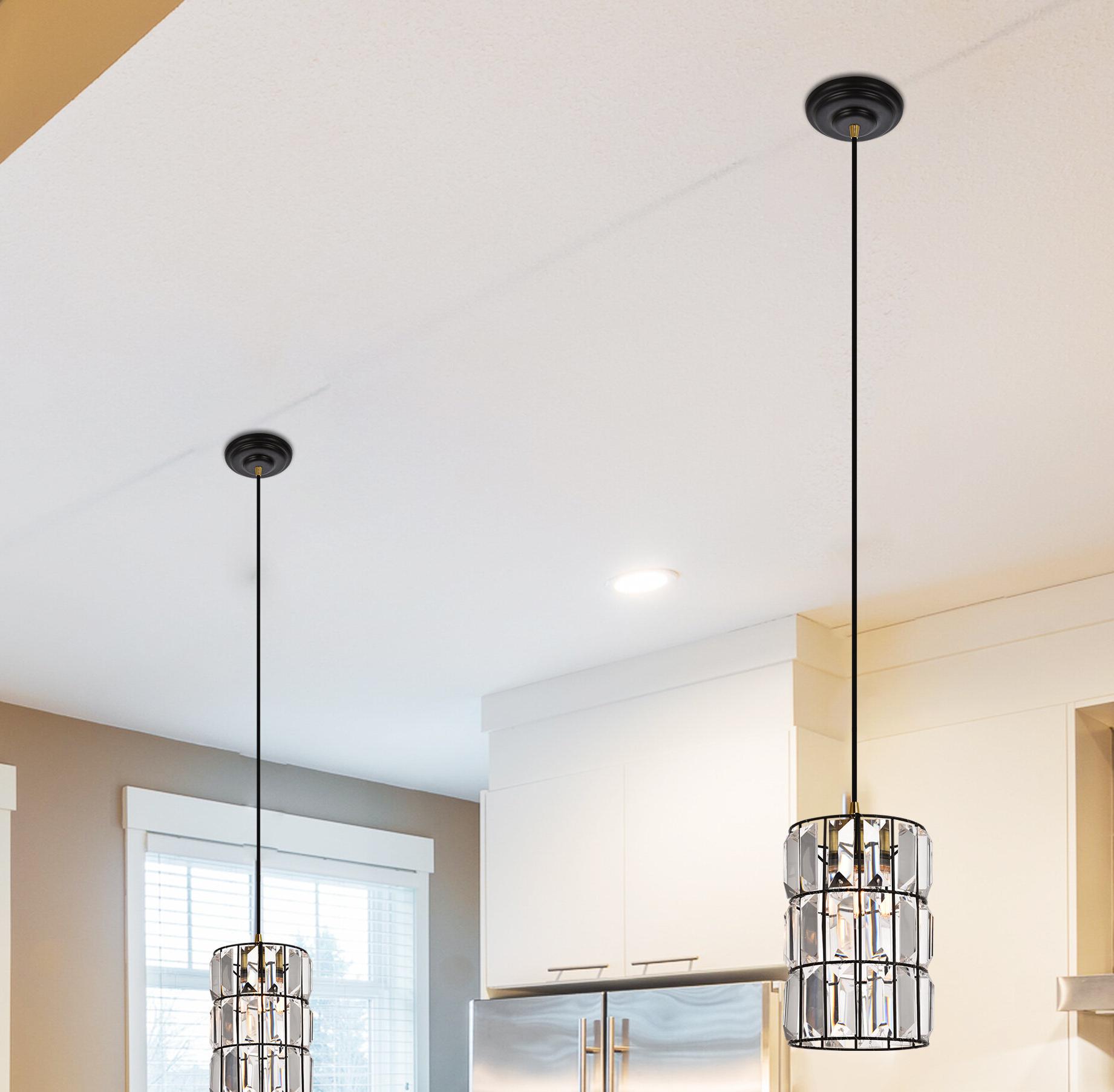 Most Current Kraker 1 Light Single Cylinder Pendants Intended For Colston 1 Light Single Cylinder Pendant (Gallery 3 of 20)