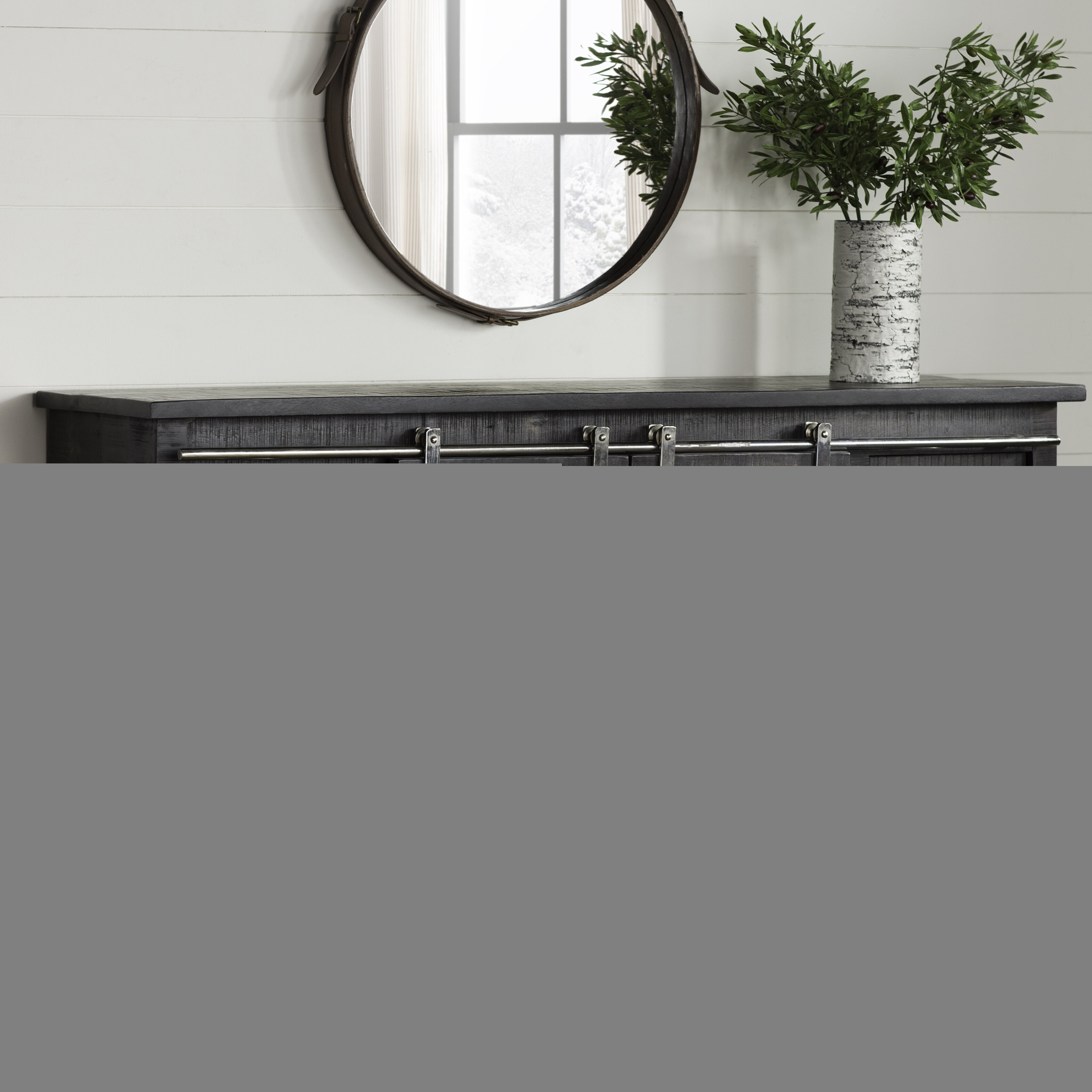 Most Current Laurel Foundry Modern Farmhouse Daub Credenza With Caines Credenzas (View 10 of 20)