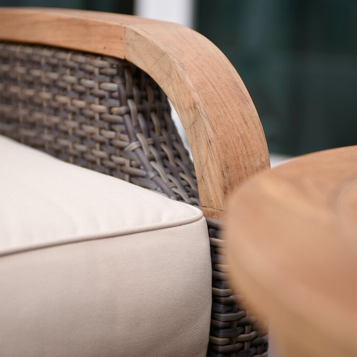 Most Current Mansfield Teak Loveseats With Cushion Intended For Mansfield Teak Loveseat With Cushion (Gallery 3 of 20)