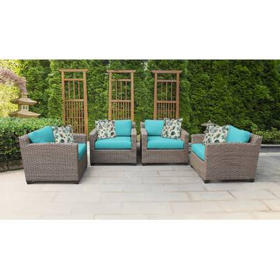 Most Current Meeks Patio Sofas With Cushions Regarding Meeks 11 Piece Sectional Seating Group With Cushions (View 12 of 20)