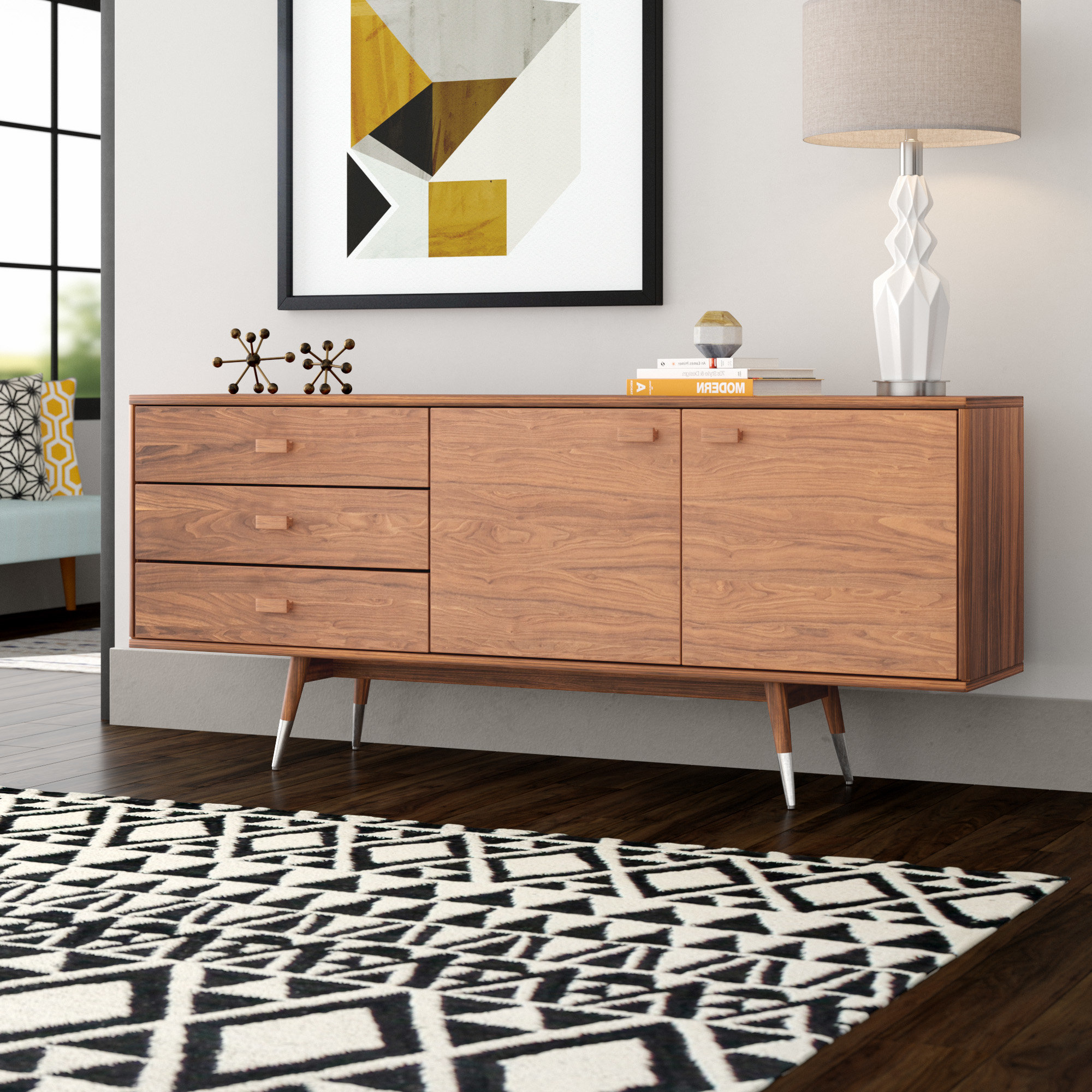 Most Current Mid Century Modern Sideboard / Credenza Sideboards & Buffets With Regard To Longley Sideboards (View 16 of 20)
