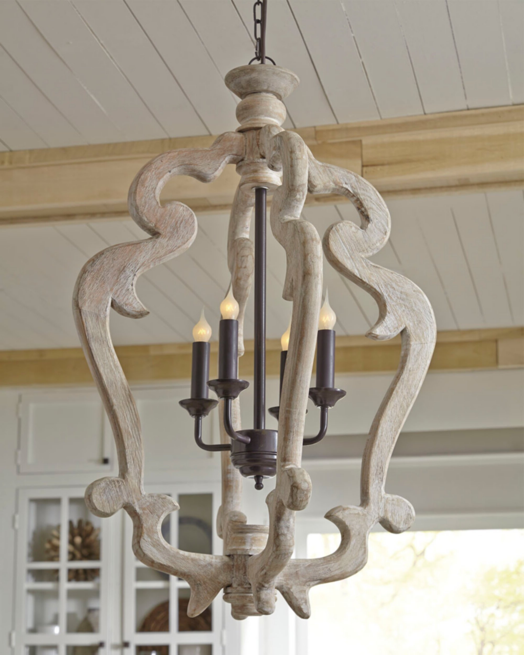 Most Current Oriana 4 Light Single Geometric Chandeliers Intended For Montigny 4 Light Foyer Pendant (View 7 of 20)