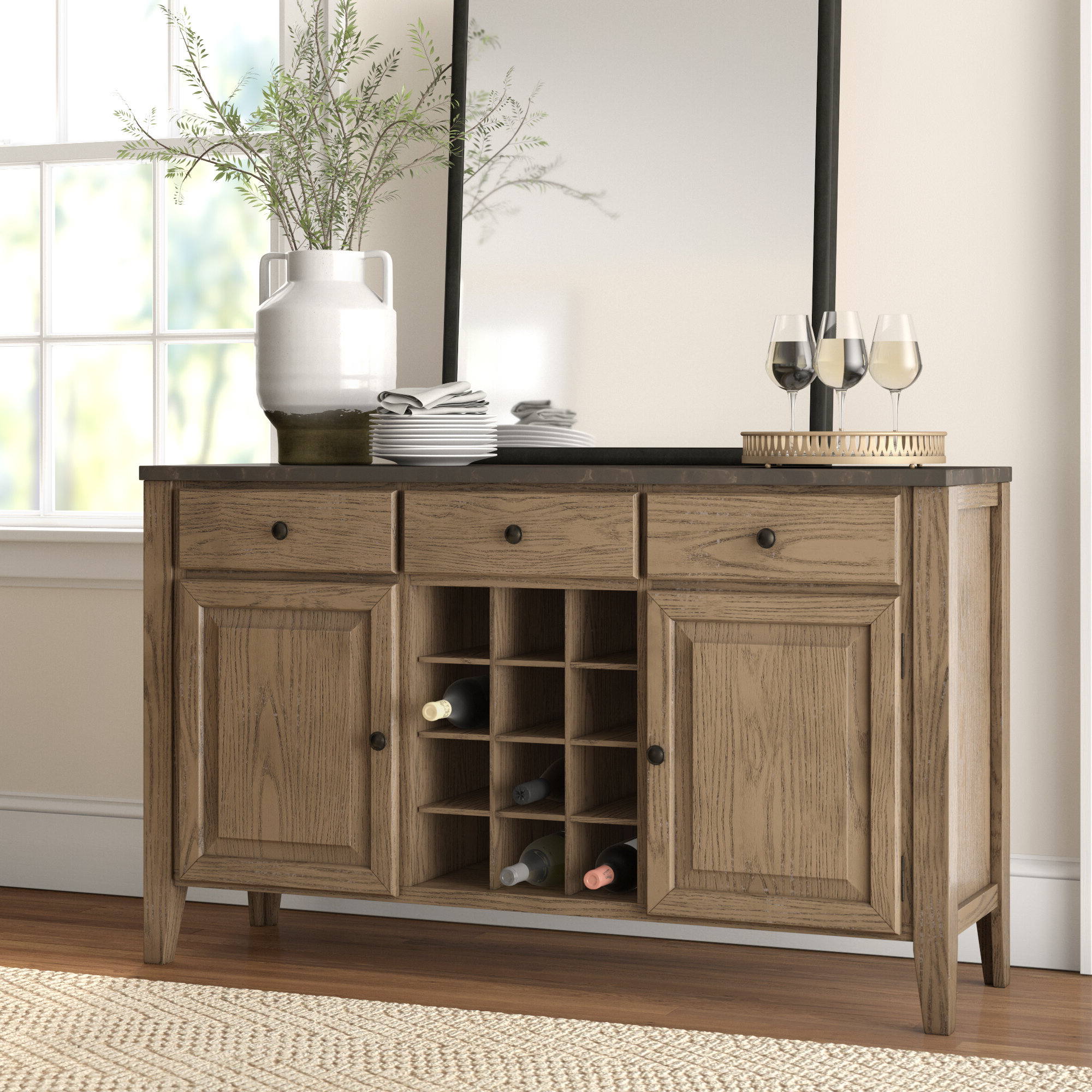 Most Current Perez Sideboards With Chugwater Sideboard (View 9 of 20)