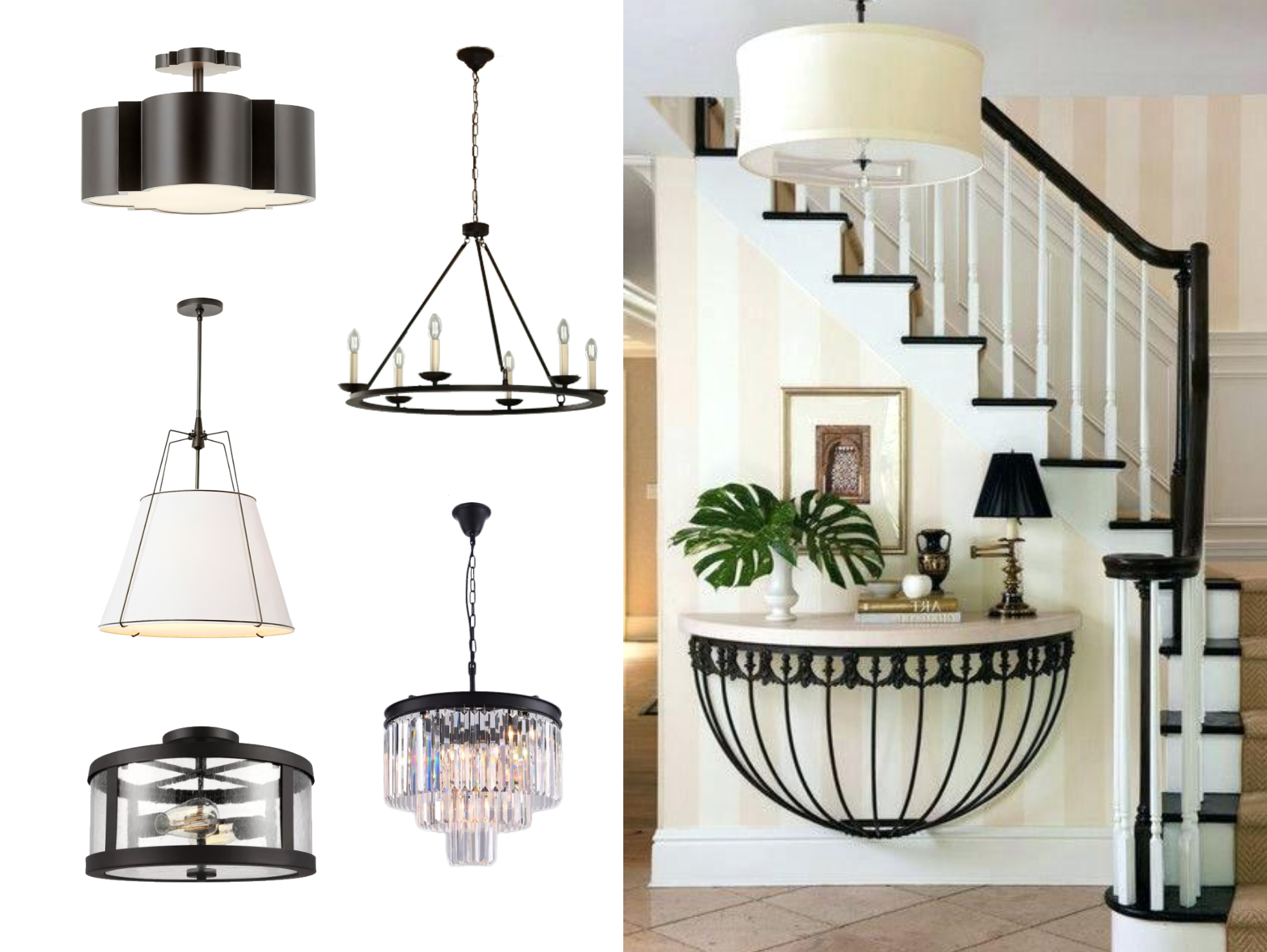 Most Current Pickensville 6 Light Wagon Wheel Chandeliers For We Just Had A Flood And Need To Replace Our Entryway Foyer (Gallery 18 of 20)