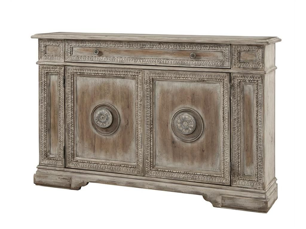 Most Current Pulaski Furniture Living Room Credenza 766102 – Engles Within Haroun Mocha Sideboards (Gallery 6 of 20)