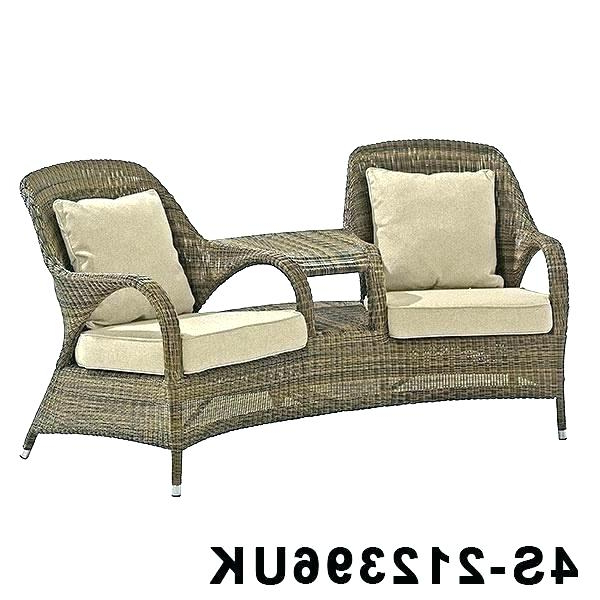 Most Current Resin Wicker Loveseat White Outdoor Cover Natural Love Seat Inside Kentwood Resin Wicker Loveseats (Gallery 13 of 20)