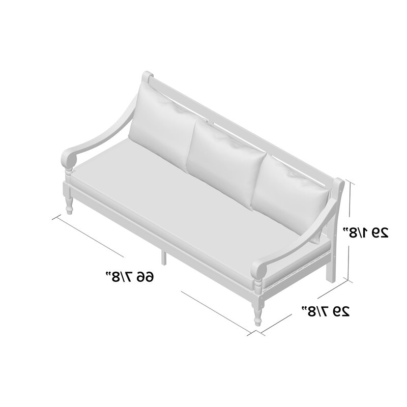 Most Current Roush Teak Patio Daybed With Cushions Pertaining To Roush Teak Patio Daybeds With Cushions (View 8 of 20)