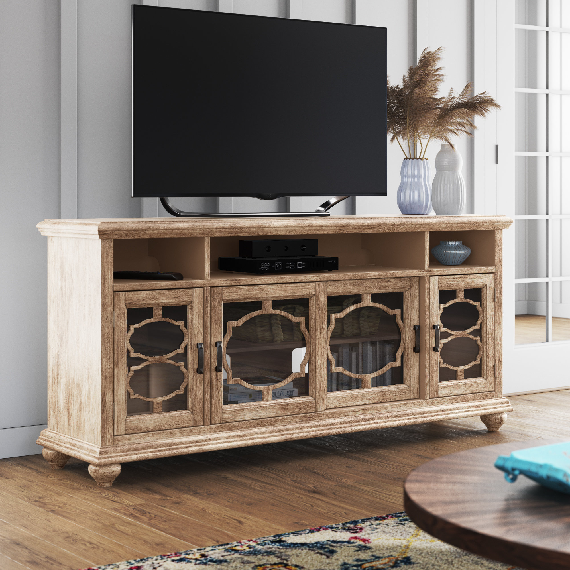 """Most Current West Newbury Tv Stand For Tvs Up To 70"""" With Colefax Vintage Tv Stands For Tvs Up To 78"""" (View 16 of 20)"""