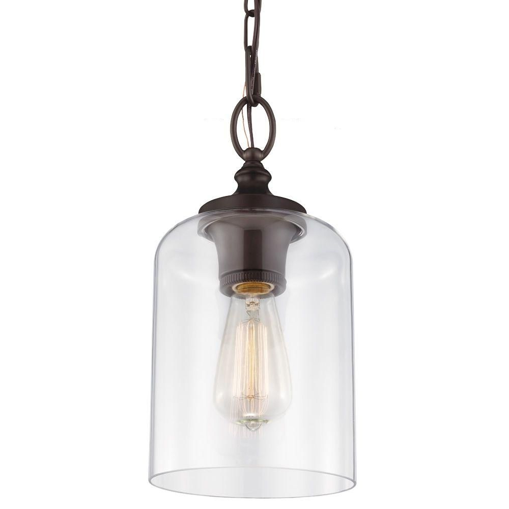 Most Current Westinghouse 1 Light Oil Rubbed Bronze Adjustable Mini In Wentzville 1 Light Single Bell Pendants (Gallery 16 of 20)