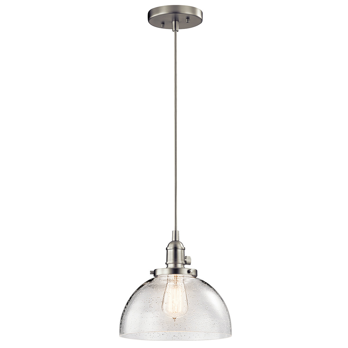 Most Popular Antioch 1 Light Dome Pendant With Ninette 1 Light Dome Pendants (Gallery 11 of 20)