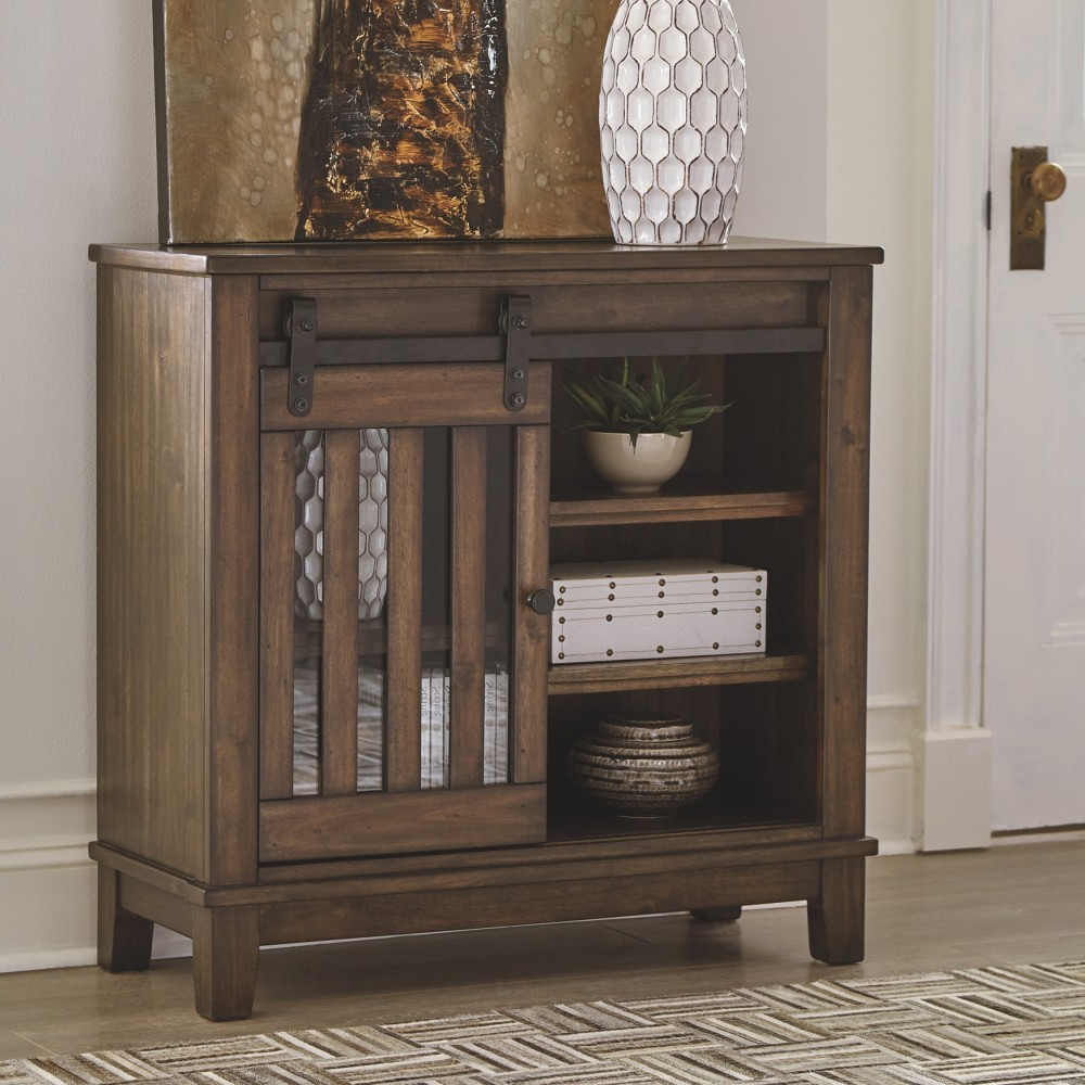 Most Popular Brookport – Brown – Accent Cabinet (View 14 of 20)