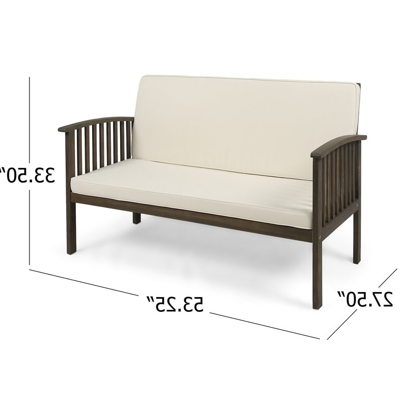Most Popular Bryant Loveseats With Cushion Regarding Bryant Loveseat With Cushion (View 3 of 20)