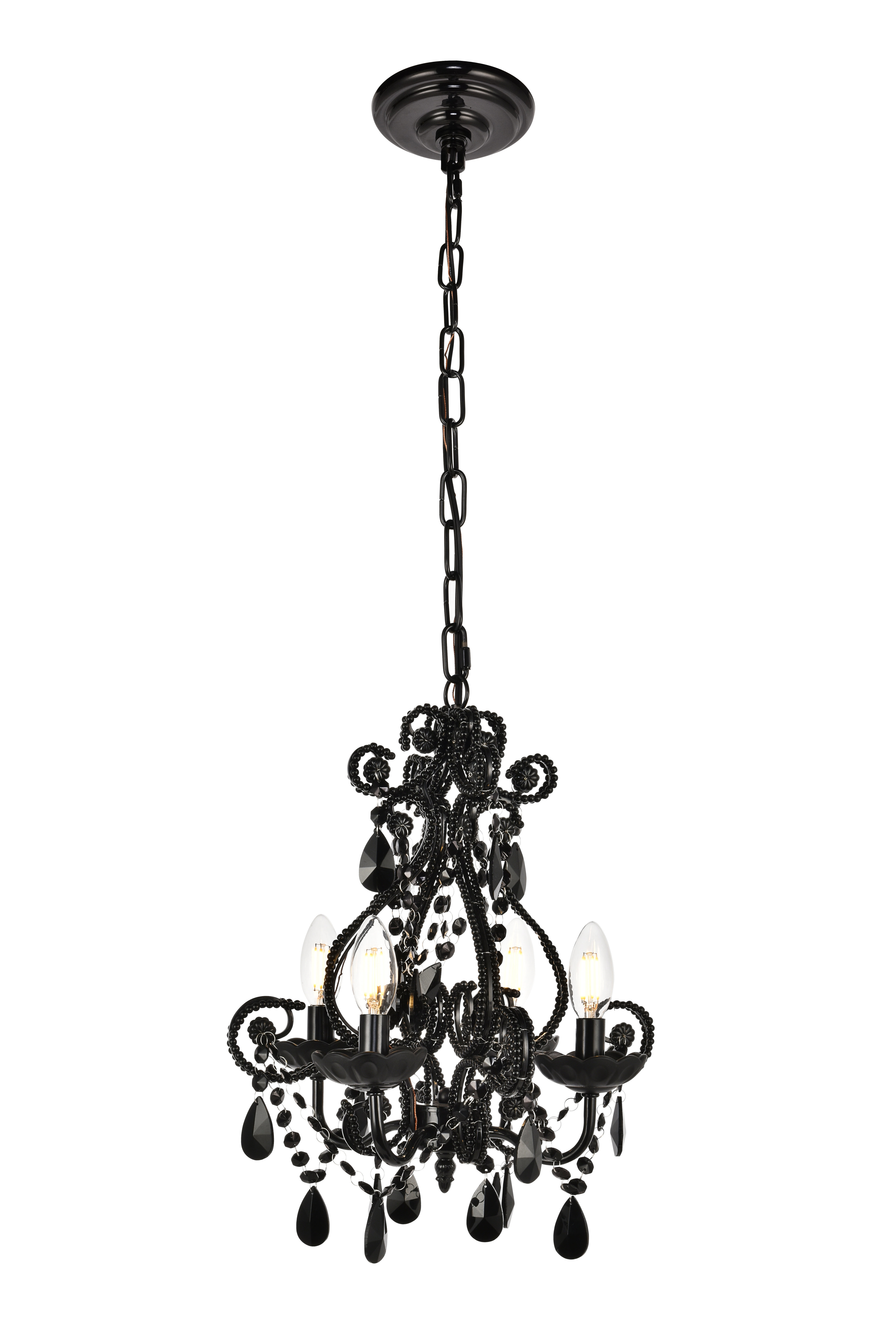 Most Popular Burcott 4 Light Candle Style Chandelier For Oriana 4 Light Single Geometric Chandeliers (View 8 of 20)