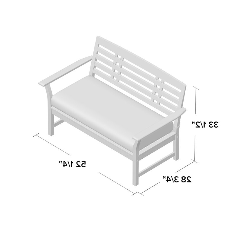 Most Popular Calila Teak Loveseats With Cushion Regarding Calila Teak Loveseat With Cushion (View 14 of 20)