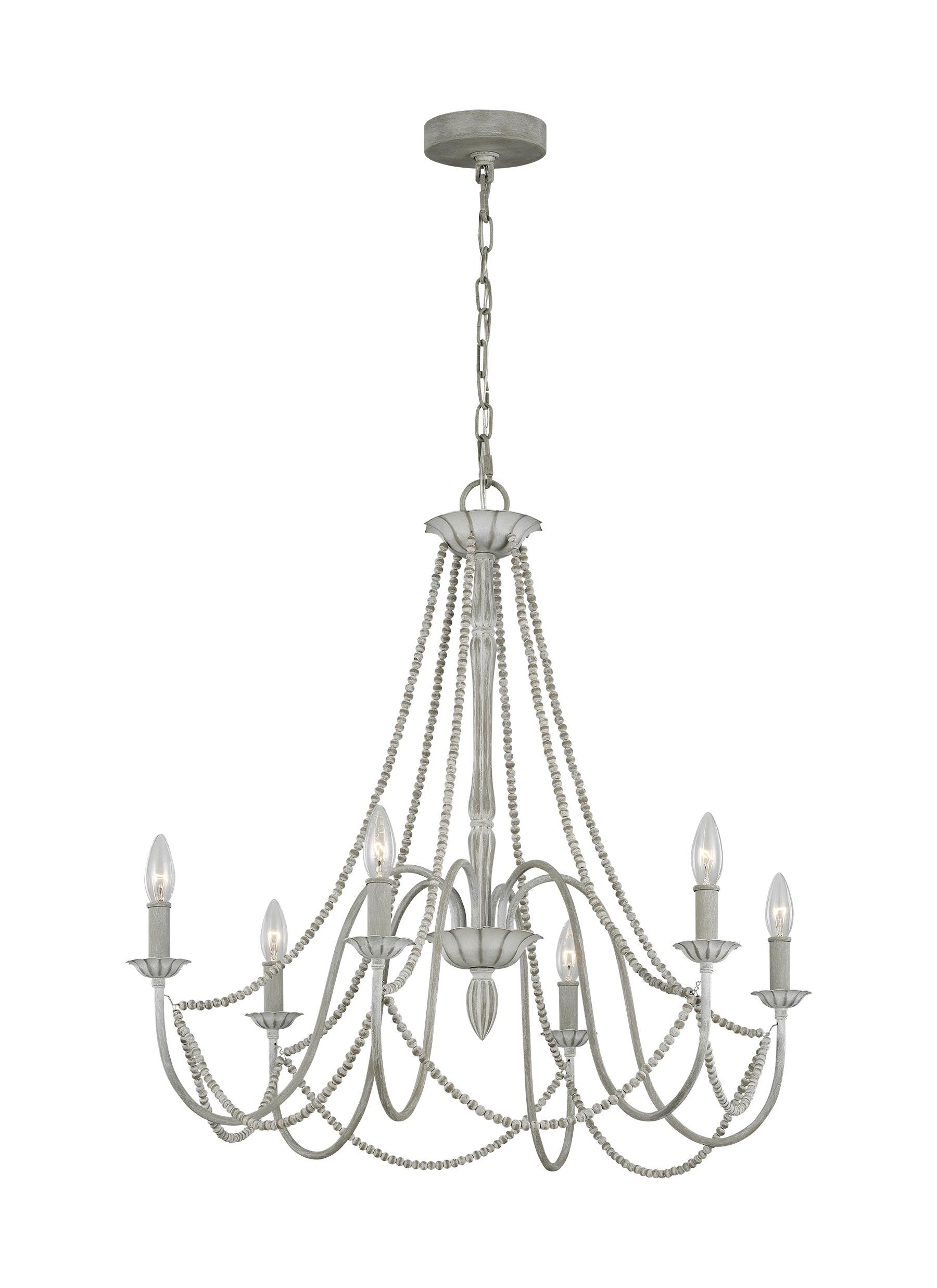 Most Popular Caufield 6 Light Candle Style Chandelier Regarding Diaz 6 Light Candle Style Chandeliers (View 7 of 20)