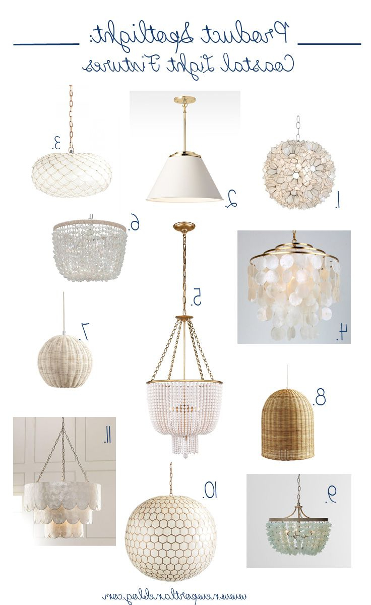Most Popular Emaria 4 Light Unique / Statement Chandeliers Intended For Coastal Light Fixtures Perfect For Any Budget (Gallery 16 of 20)