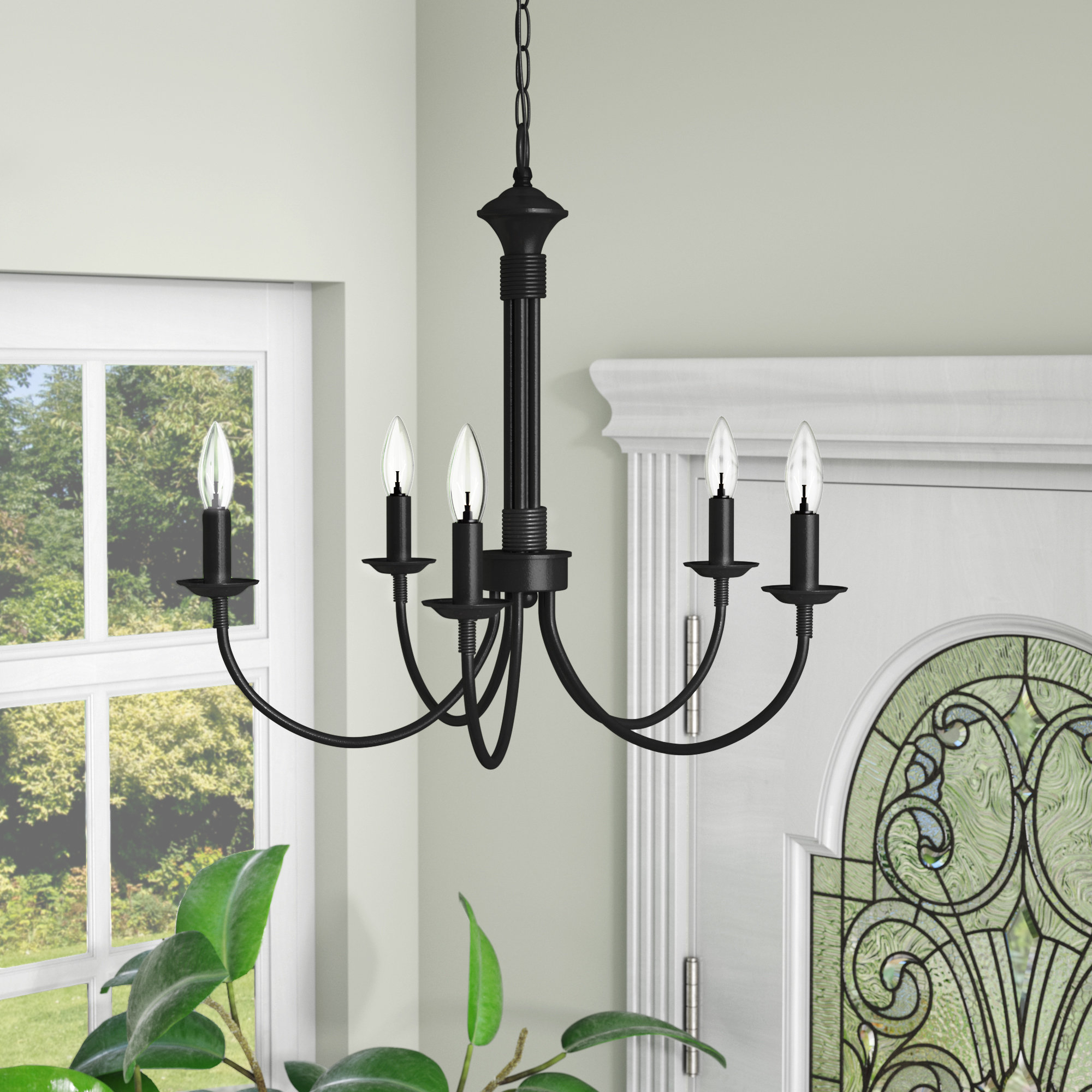 Most Popular Florentina 5 Light Candle Style Chandeliers Throughout Shaylee 5 Light Candle Style Chandelier (View 6 of 20)