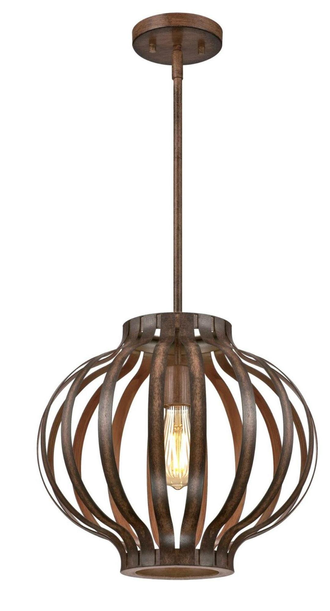 Most Popular Guthrie 1 Light Lantern Pendant Inside Kilby 1 Light Pendants (View 15 of 20)