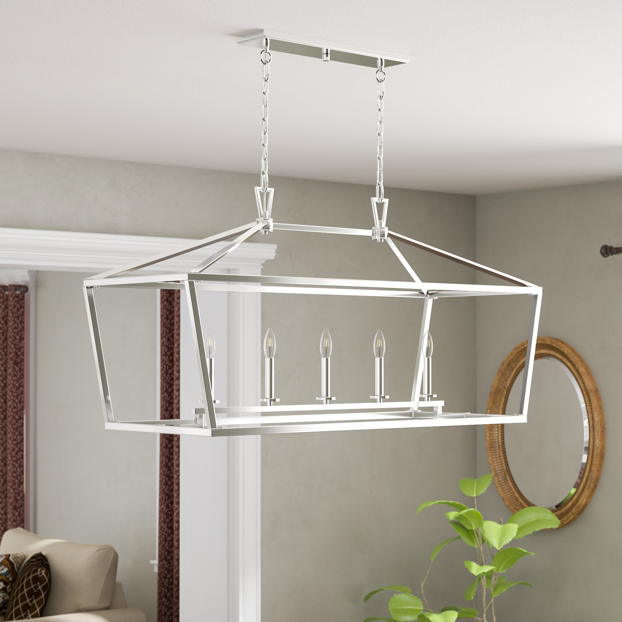 Most Popular Hinerman 5 Light Kitchen Island Pendants In Israel 5 Light Kitchen Island Linear Pendant (View 16 of 20)