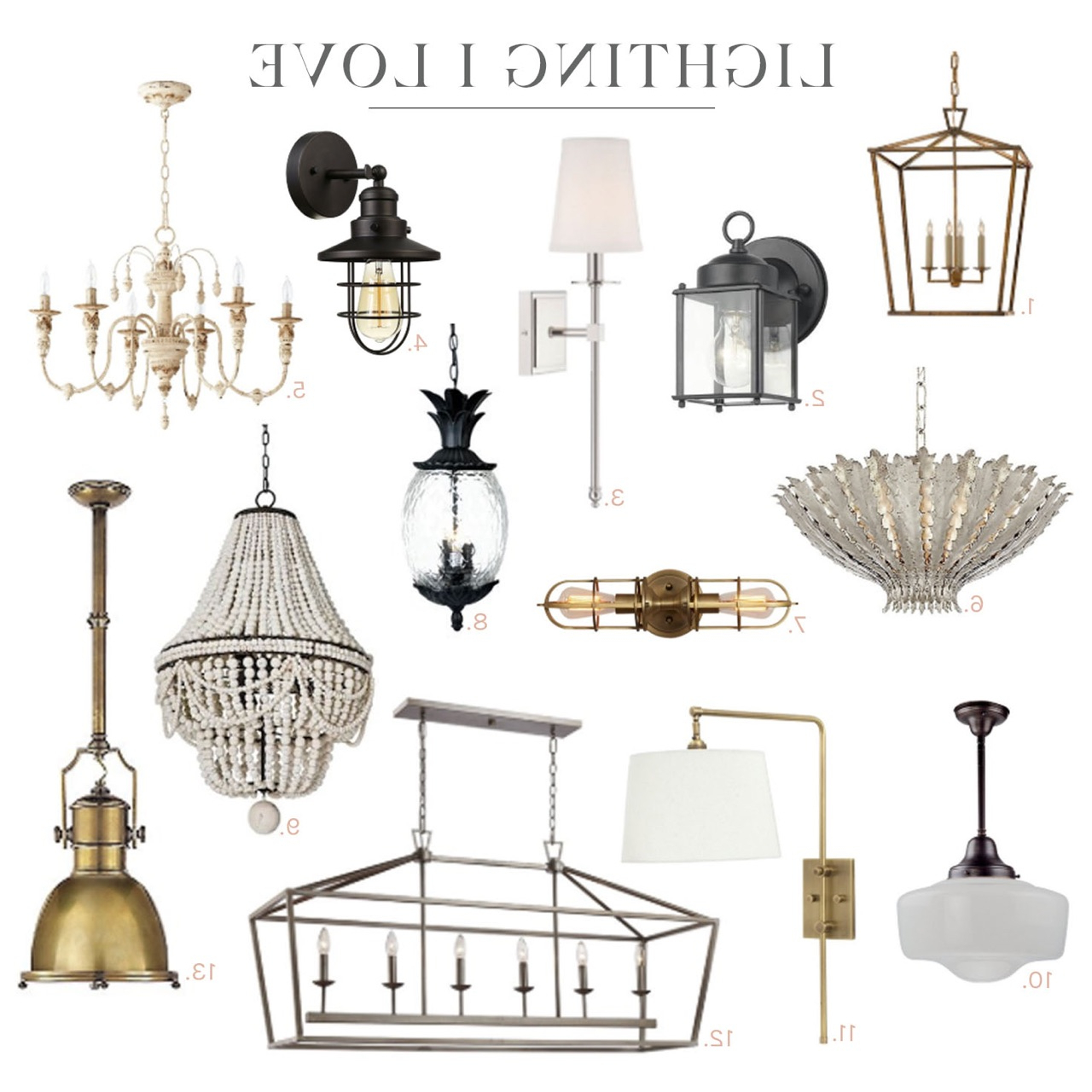 Most Popular In My Home: Lighting I Love Pertaining To Paladino 6 Light Chandeliers (View 8 of 20)