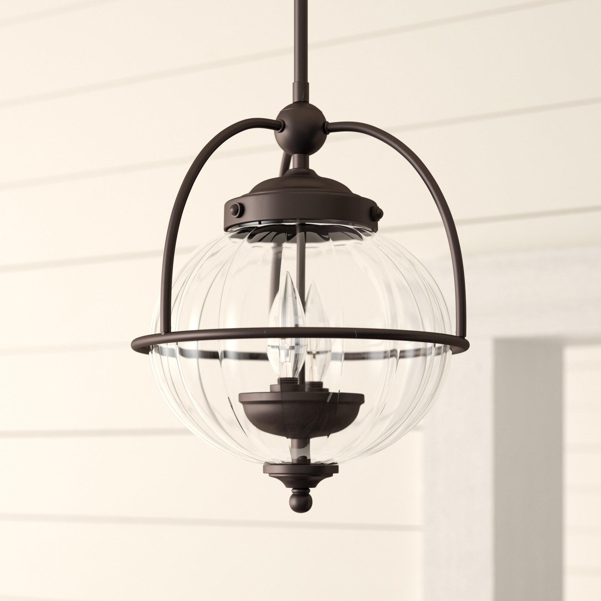 Most Popular Irwin 1 Light Single Globe Pendants Pertaining To Farmhouse & Rustic Globe Pendants (Gallery 14 of 20)