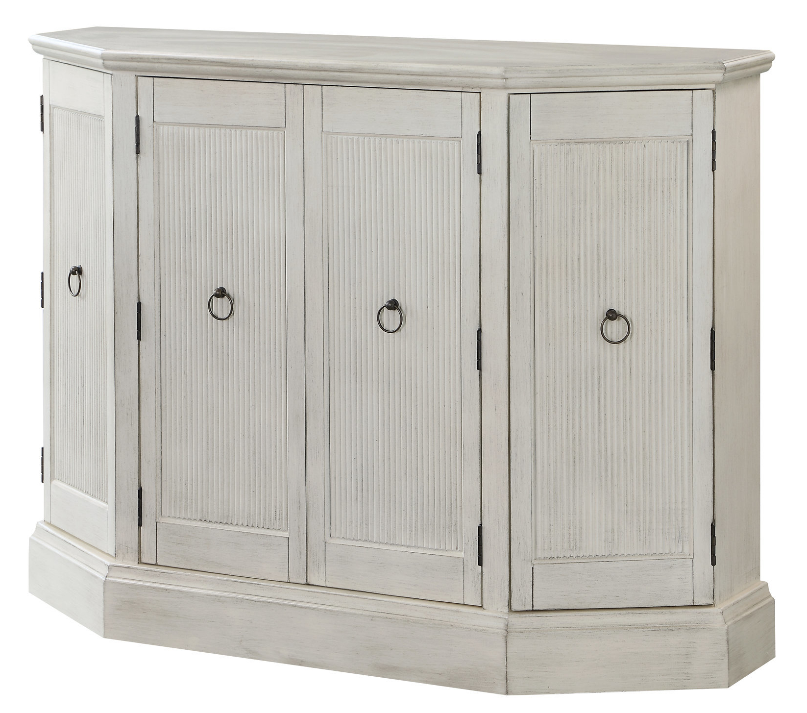 Most Popular Kattie 4 Door Cabinets Inside Highland Dunes Hartsell 4 Door Accent Cabinet (View 14 of 20)