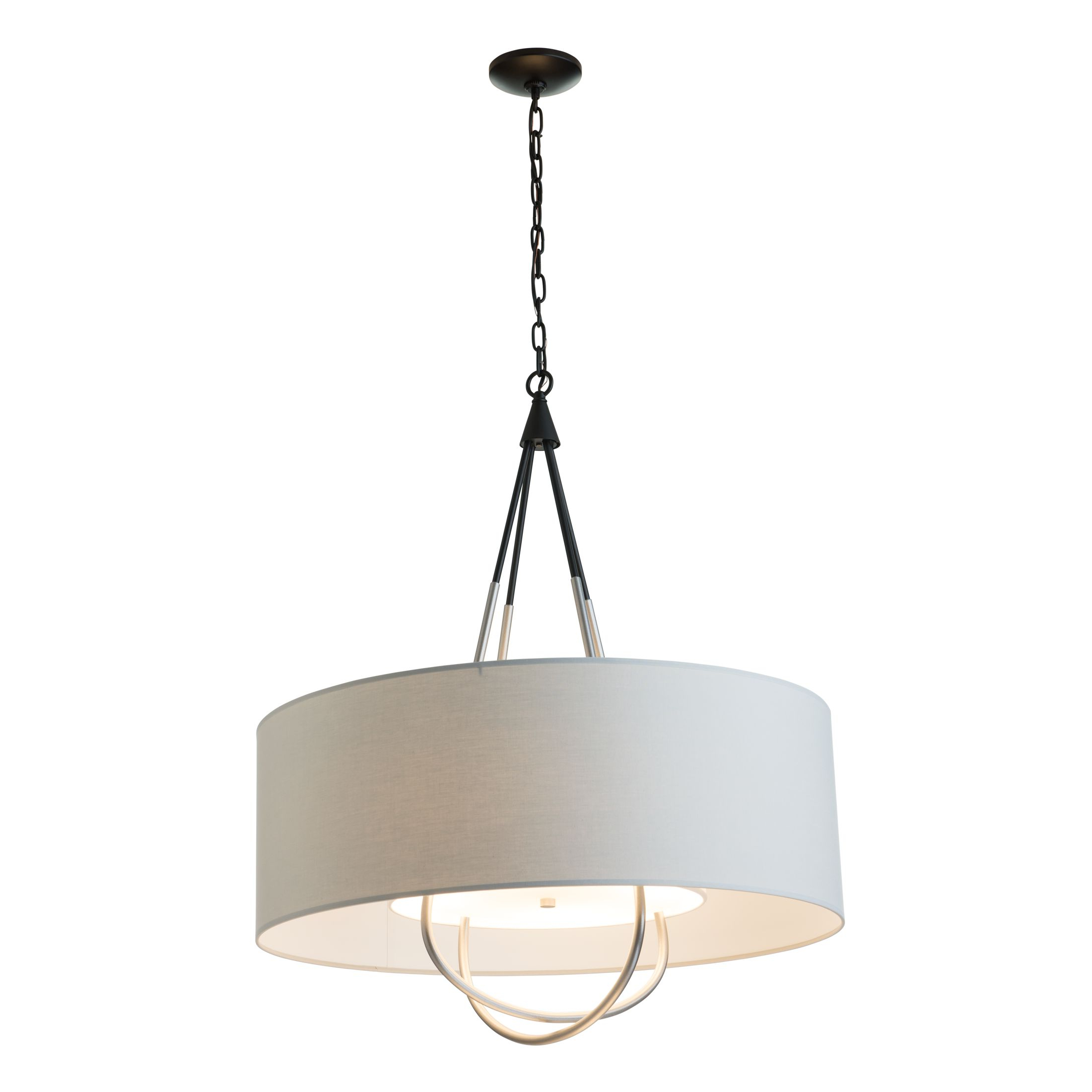 Most Popular Loop Pendant – Hubbardton Forge Regarding Vincent 5 Light Drum Chandeliers (Gallery 9 of 20)