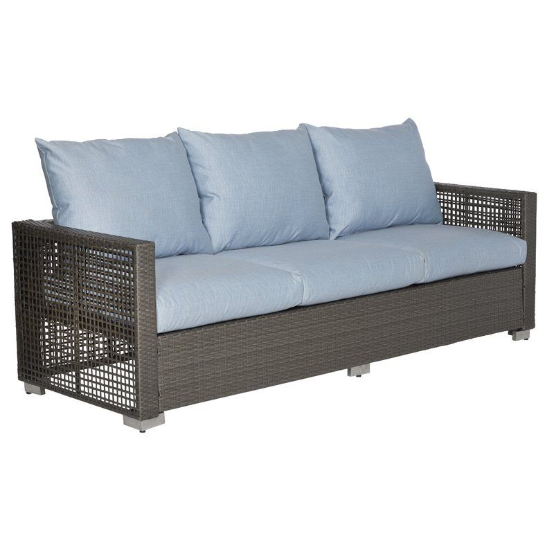 Most Popular Mcmanis Patio Sofa With Cushions (Gallery 8 of 20)