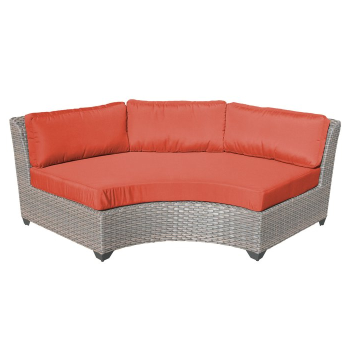 Most Popular Meeks Patio Sofas With Cushions Intended For Meeks Patio Chair With Cushions (View 13 of 20)