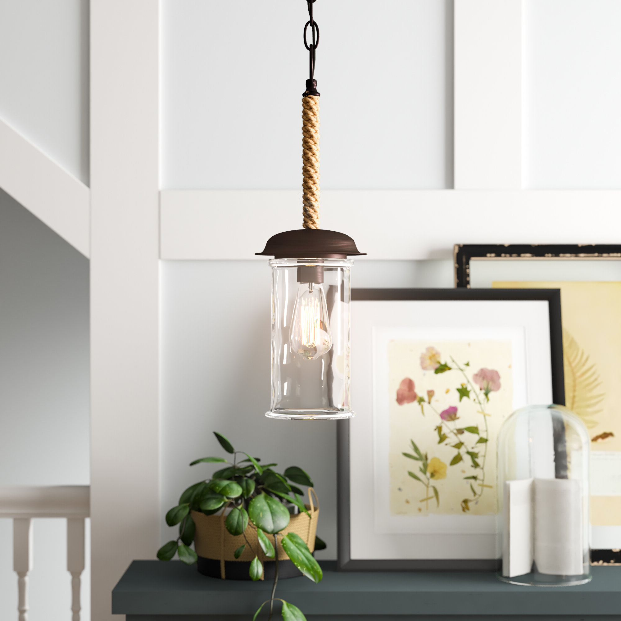 Most Popular Moyer 1 Light Single Cylinder Pendants Intended For Sorrell 1 Light Single Cylinder Pendant (Gallery 7 of 20)