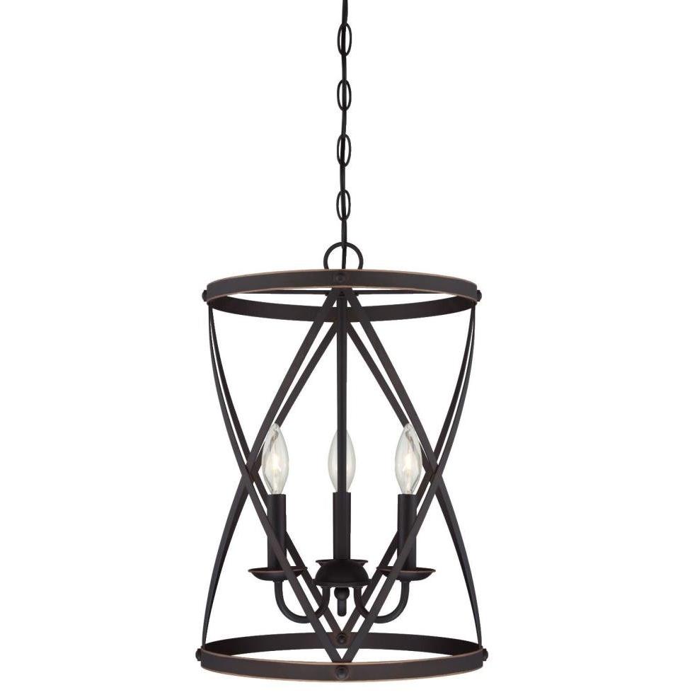 Most Popular Nisbet 4 Light Lantern Geometric Pendants Throughout Gingerich 3 Light Lantern Pendant (Gallery 18 of 20)