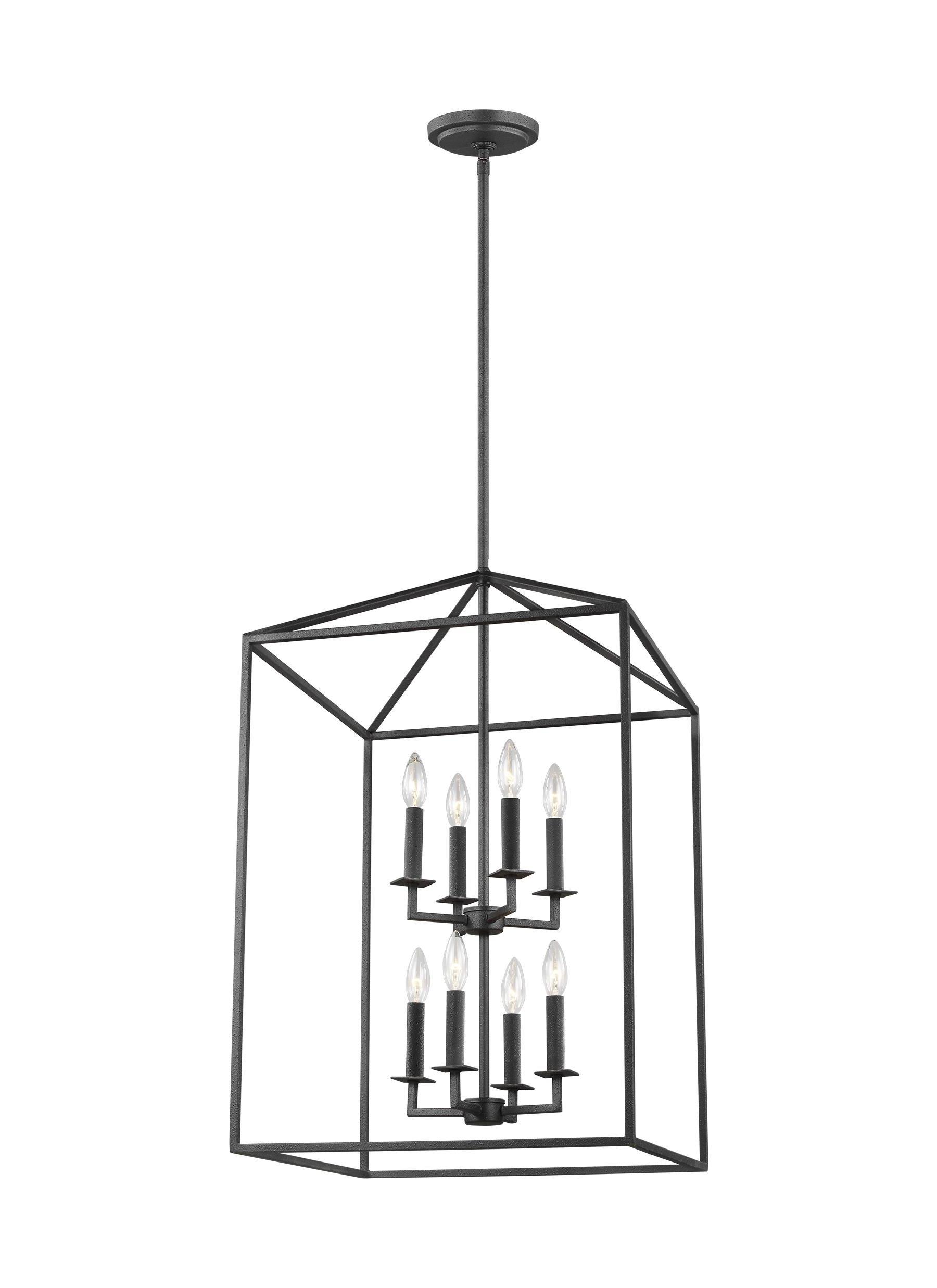 Most Popular Odie 8 Light Lantern Square / Rectangle Pendant In Odie 8 Light Lantern Square / Rectangle Pendants (Gallery 1 of 20)