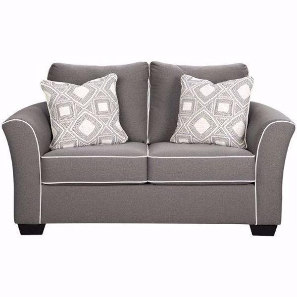 Most Popular Rachel Loveseat Regarding Bryant Loveseats With Cushion (View 10 of 20)