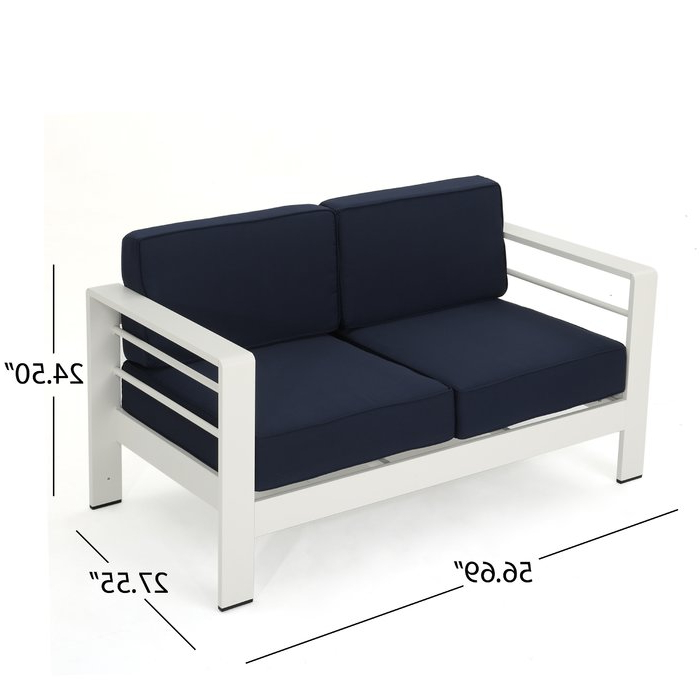 Most Popular Royalston 5 Piece Sofa Set With Cushions Pertaining To Royalston Patio Sofas With Cushions (View 7 of 20)