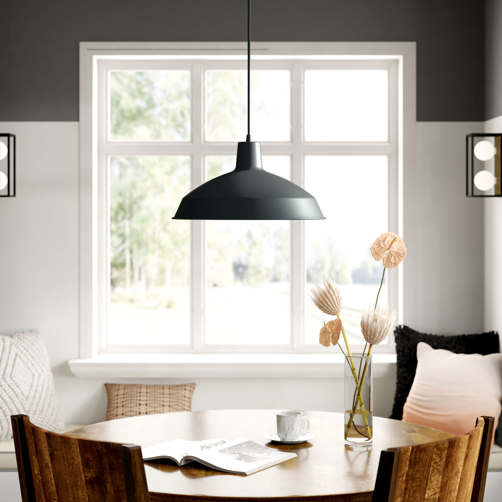 Most Popular Ryker 1 Light Single Dome Pendants With Regard To Conover 1 Light Dome Pendant (View 10 of 20)
