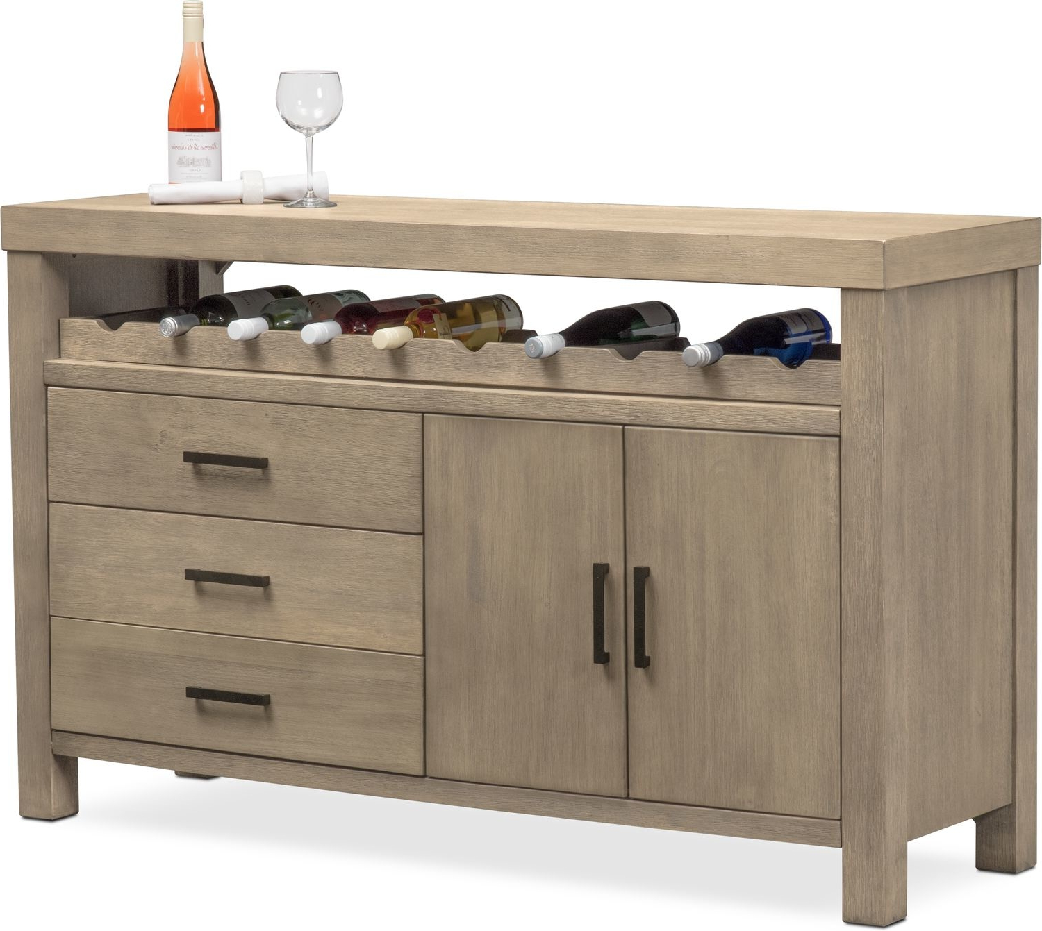 Most Popular Tribeca Sideboard – Gray Intended For Tribeca Sideboards (View 9 of 20)