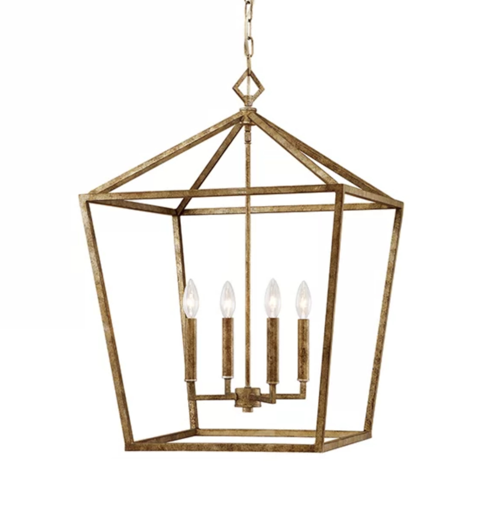 Most Popular Varnum 4 Light Lantern Pendants For Restoration Hardware Chandelier Look Alikes For Less (Gallery 19 of 20)