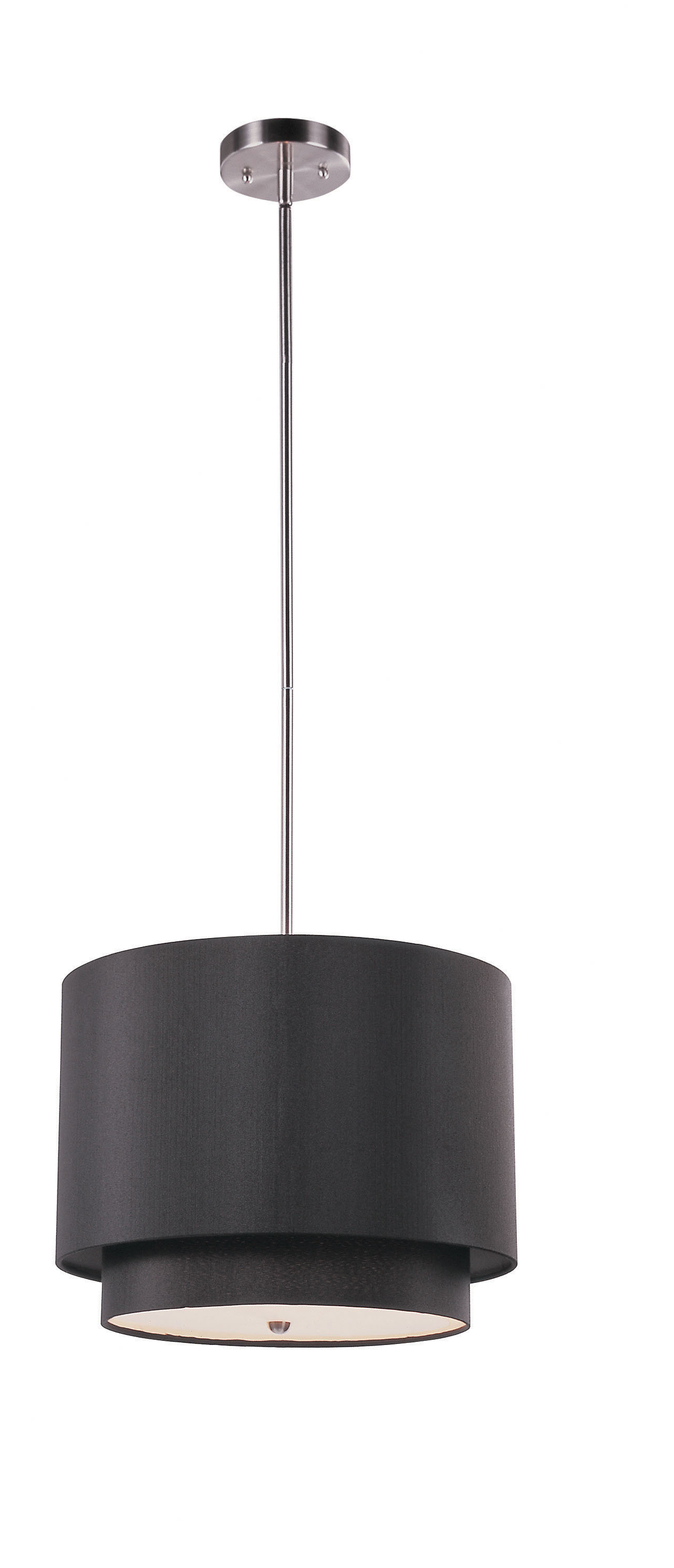 Most Popular Wade Logan Burslem 3 Light Single Drum Pendant & Reviews Throughout Friedland 3 Light Drum Tiered Pendants (View 14 of 20)