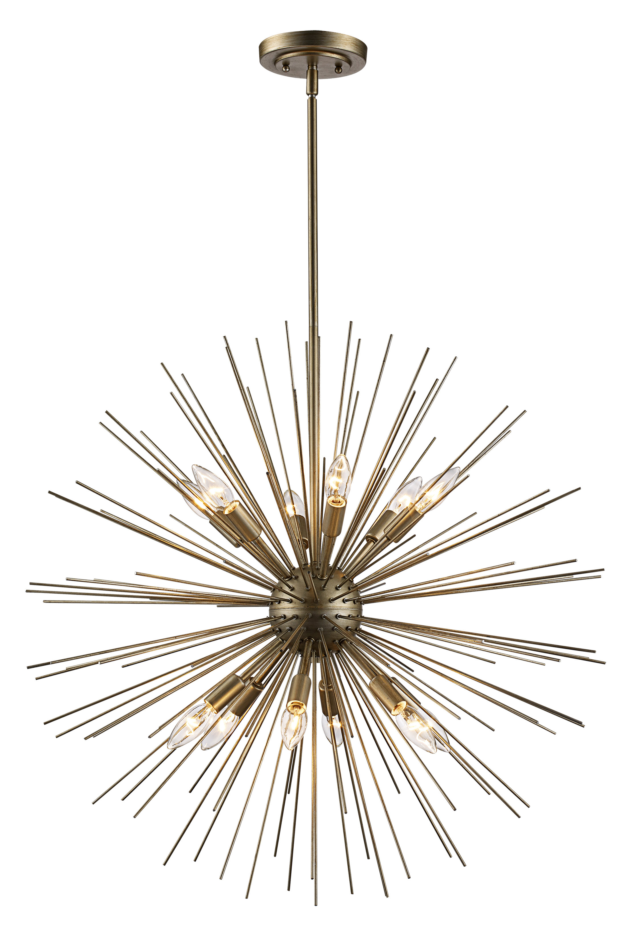 Most Recent Antonie 12 Light Sputnik Chandelier Throughout Nelly 12 Light Sputnik Chandeliers (View 7 of 20)