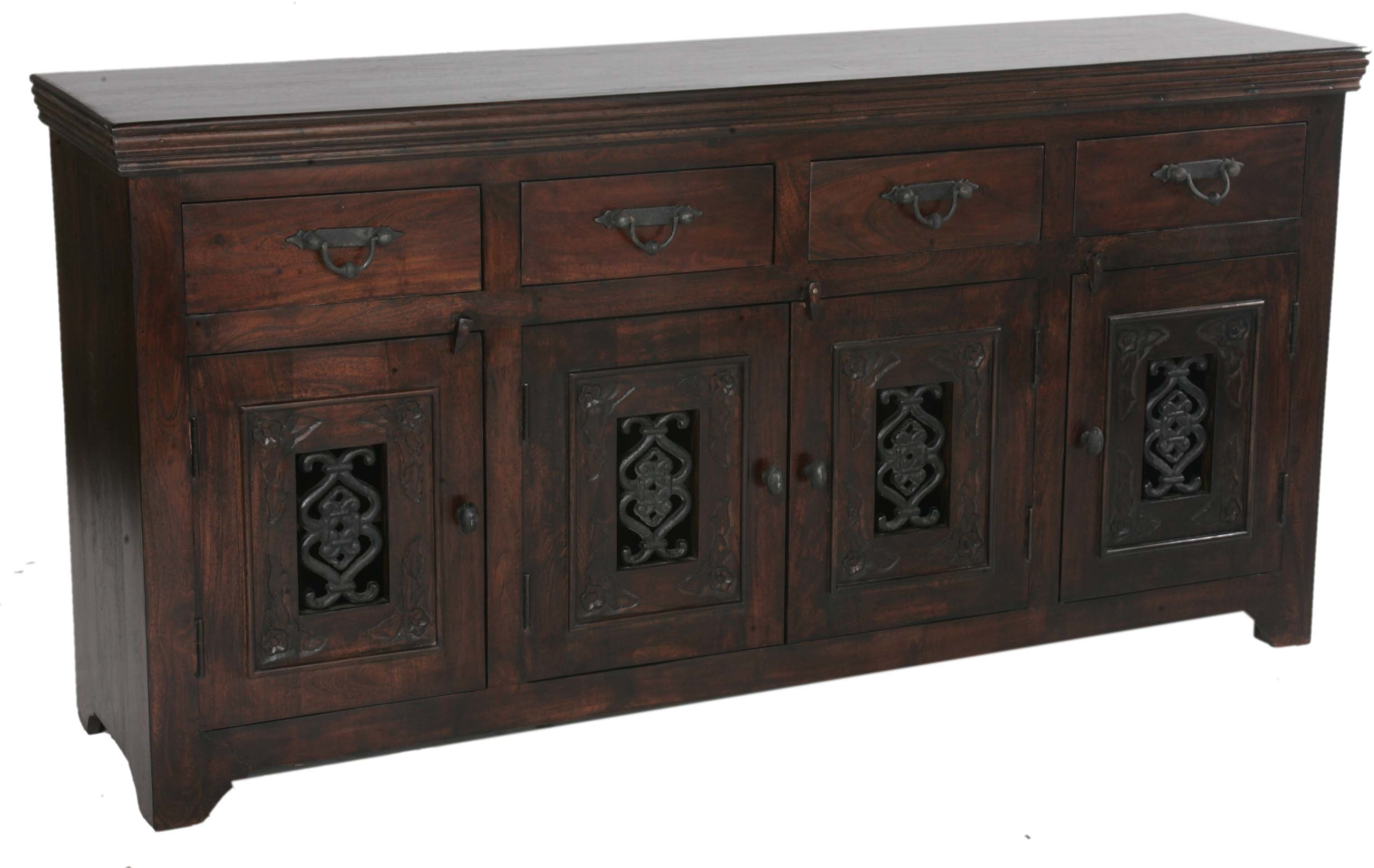 Most Recent Aster Sideboard With Haroun Mocha Sideboards (Gallery 11 of 20)