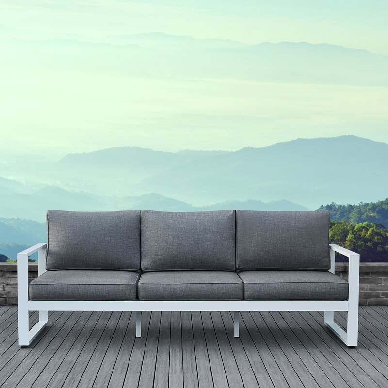 Most Recent Baltic Patio Sofa With Cushions With Regard To Baltic Patio Sofas With Cushions (View 11 of 20)