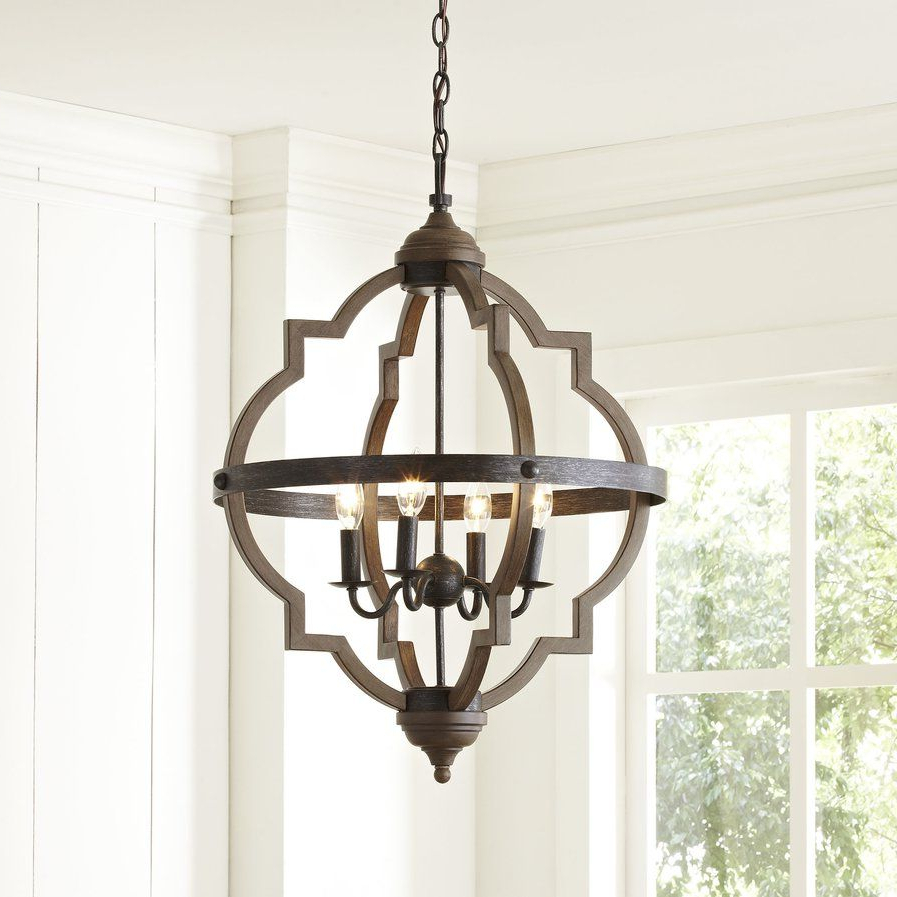 Most Recent Bennington Candle Style Chandelier (View 4 of 20)