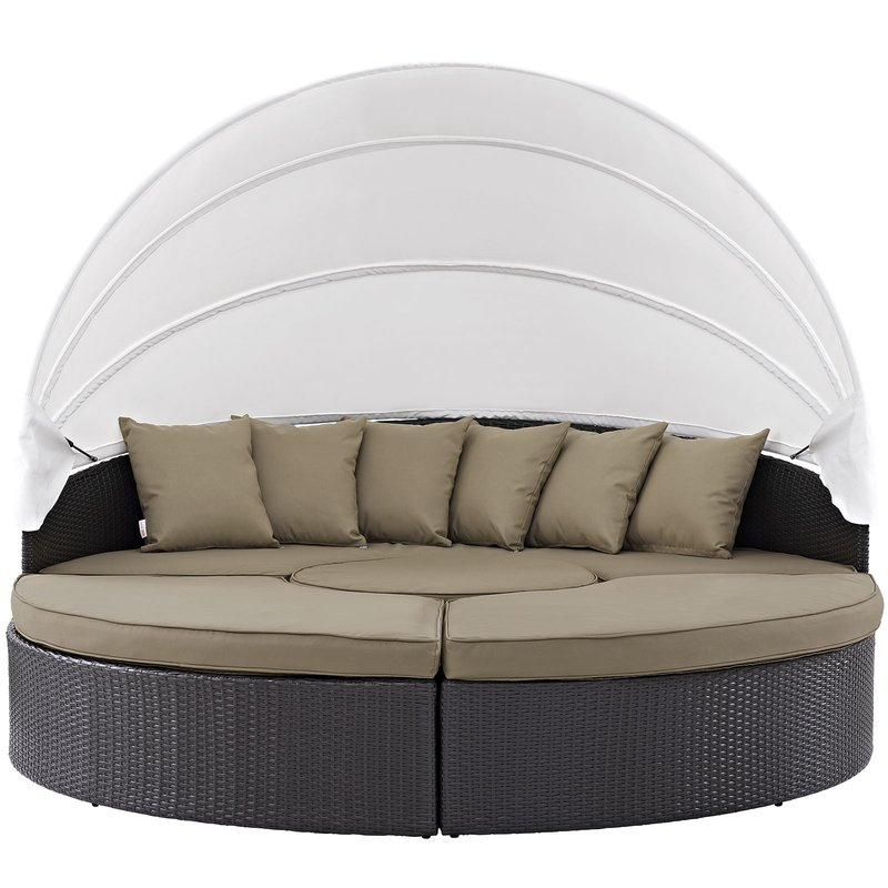 Most Recent Brentwood Patio Daybeds With Cushions Pertaining To Brentwood Patio Daybed With Cushions (Gallery 1 of 20)