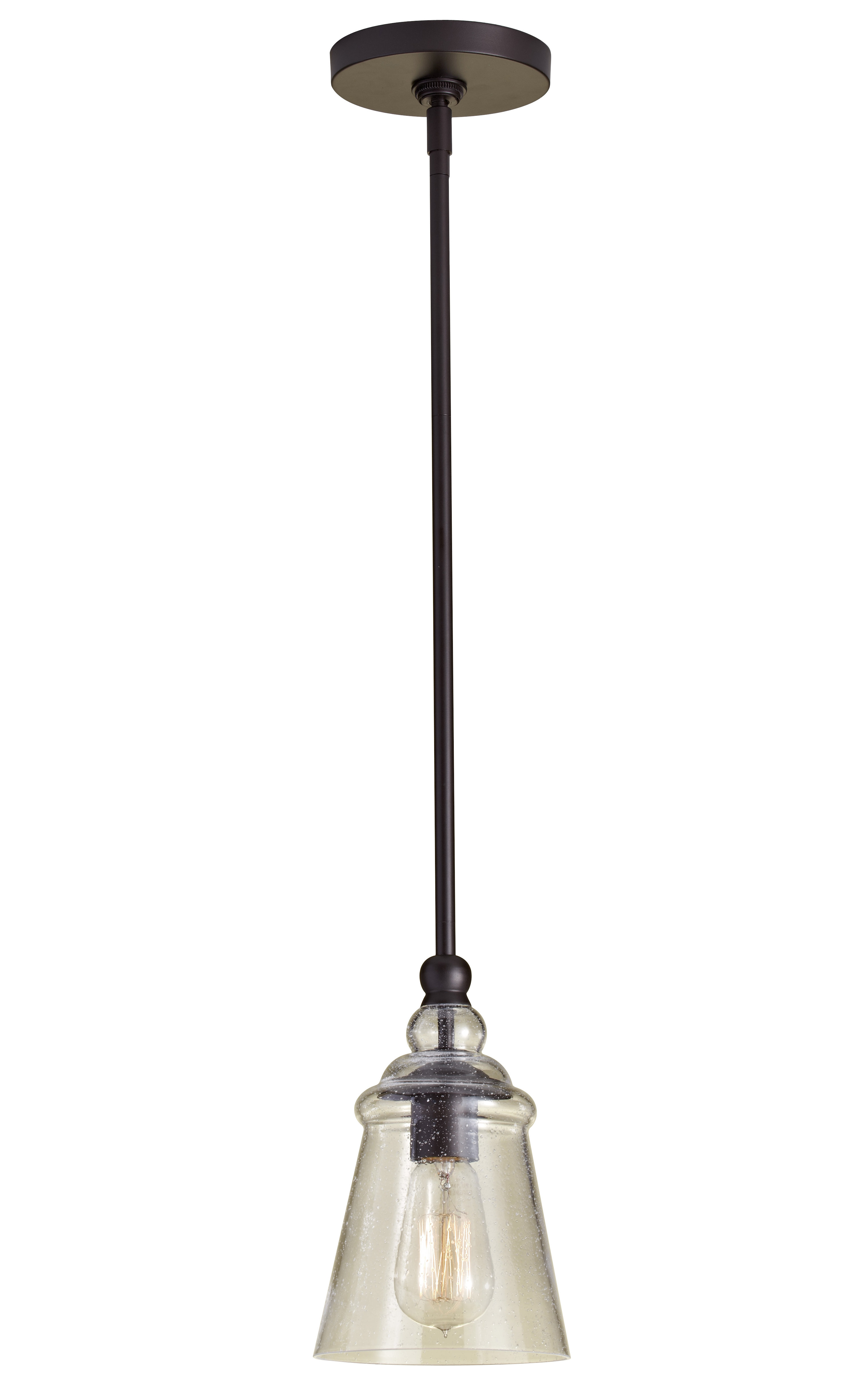 Most Recent Erico 1 Light Single Bell Pendants Pertaining To Sargent 1 Light Single Bell Pendant (View 4 of 20)