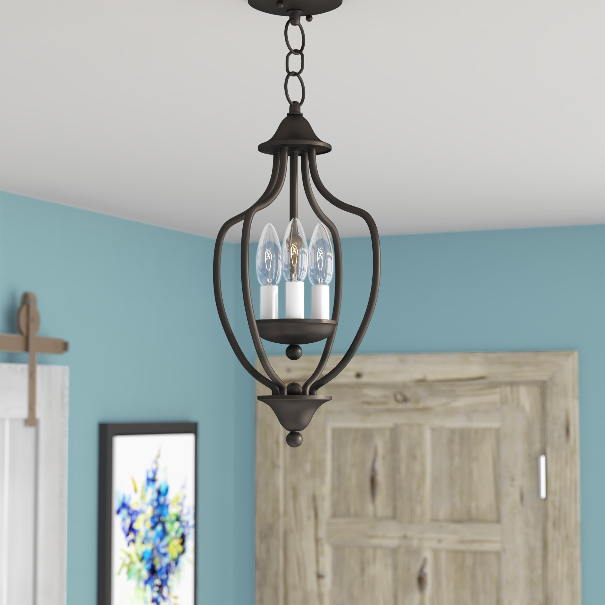 Most Recent Foyer Charlton Home Pendant Lighting You'll Love In 2019 Regarding Warner Robins 3 Light Lantern Pendants (View 9 of 20)