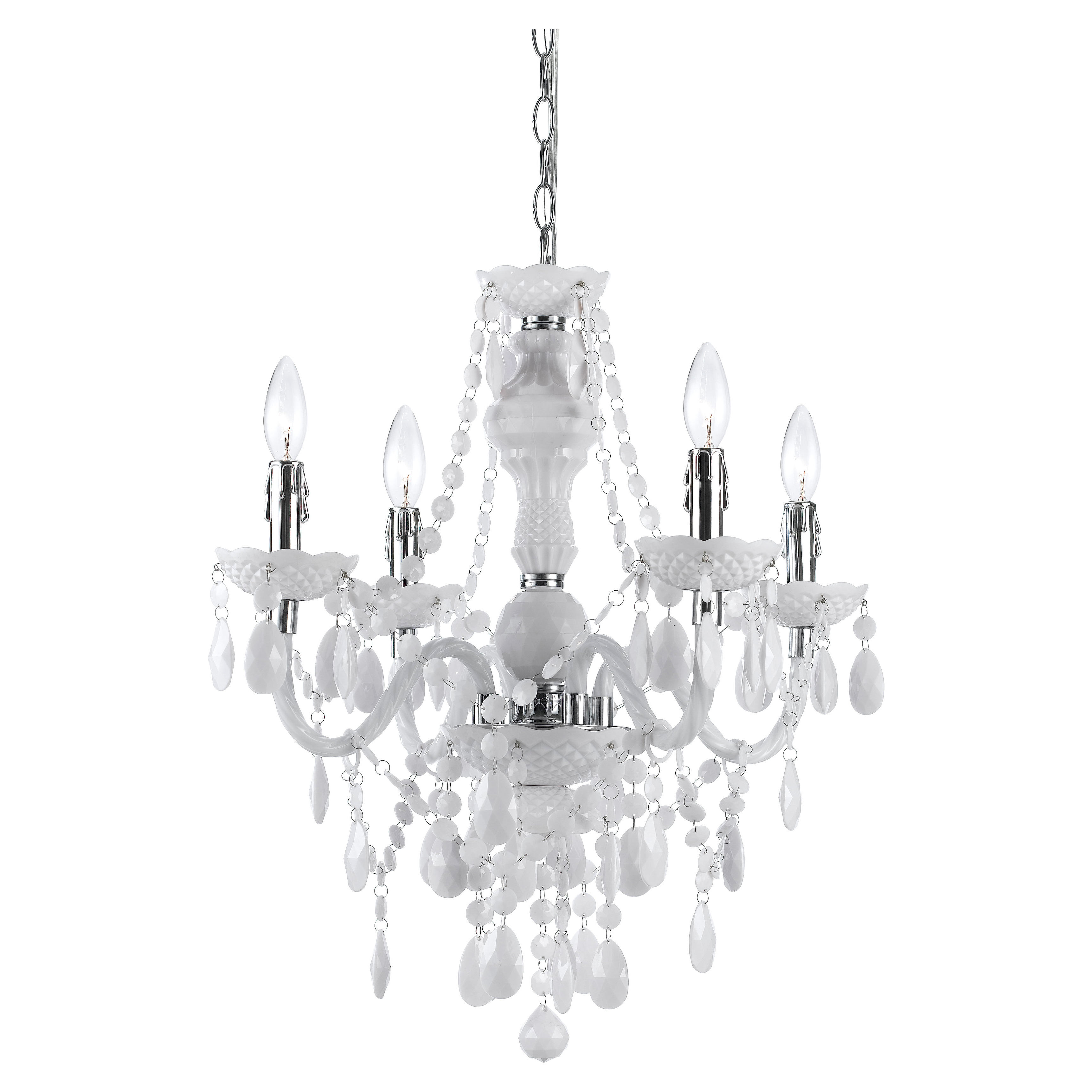 Most Recent Geoffroy 4 Light Candle Style Chandelier Within Aldora 4 Light Candle Style Chandeliers (Gallery 6 of 20)