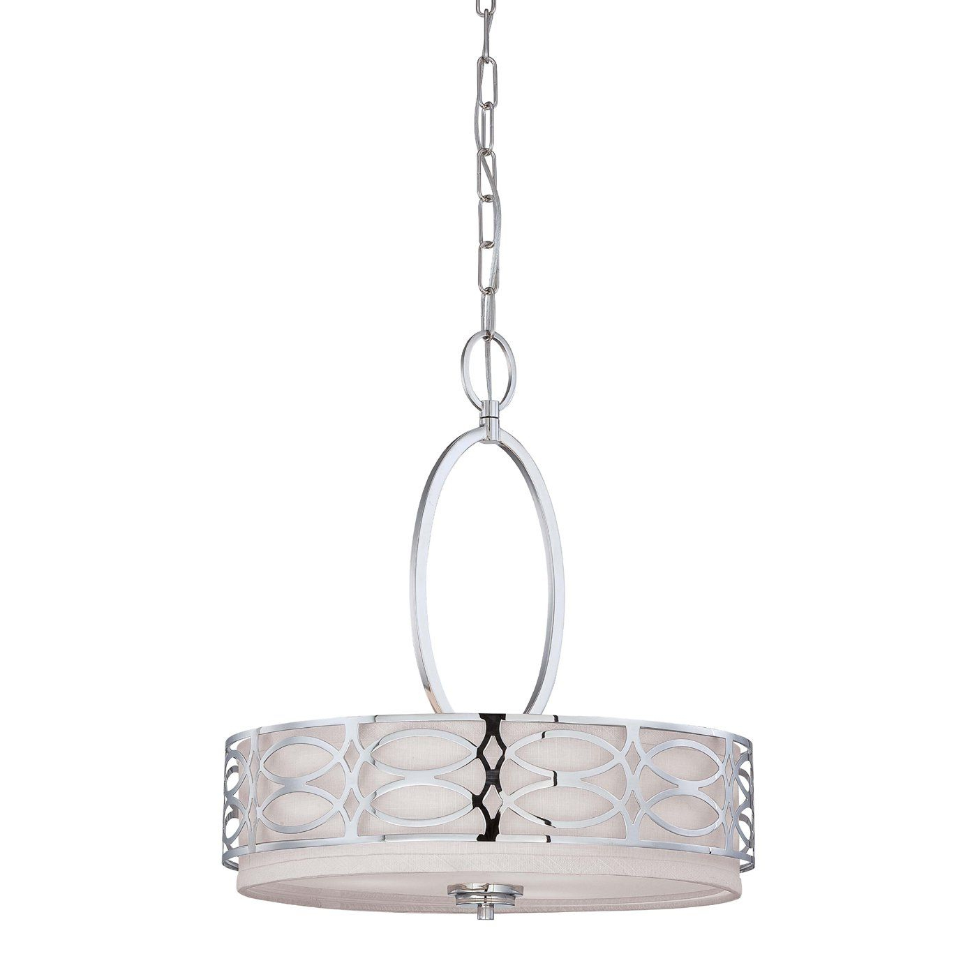 Most Recent Helina 1 Light Pendants With Regard To Nuvo Lighting 60 4 3 Light Harlow Large Pendant (View 15 of 20)