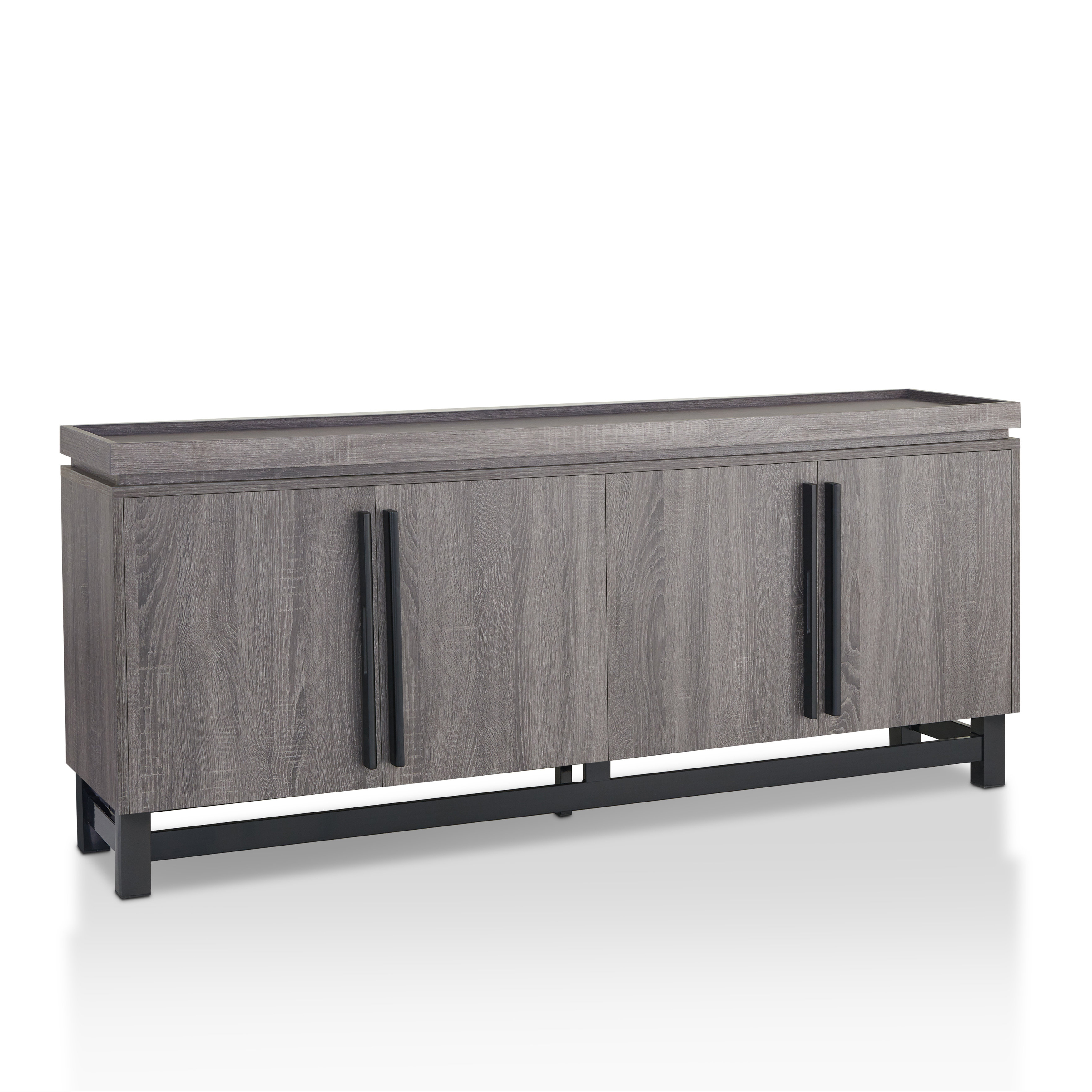 Most Recent Lainey Credenzas In Modern & Contemporary Credenza Modern (View 9 of 20)